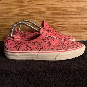 Vans Unisex Kello Kitty Authentics Mens 8.5